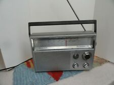 Vintage Realistic Deluxe 5 Band Radio Portavision 50 12-780 AC/DC Works Perfect