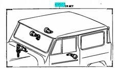 TOYOTA 69005-90316 LOCK CYLINDER KEYS SET Genuine Car Parts LAND CRUISER