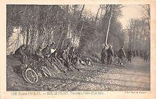 BF40271 guerre 1914 sur le front troupes a l abri d un bois  Military militaria