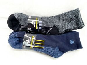 Adidas Mens Performance High Quarter 4 Pairs Socks AEROREADY TRAXION COMPRESSION