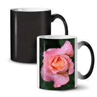 Rose Flower Photo NEW Colour Changing Tea Coffee Mug 11 oz | Wellcoda
