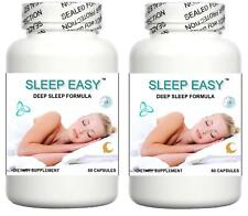 2x Better Sleep Formula Sleeping Aid Tablets Deep Restful Sleep 60 Capsules