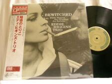 EDDIE HIGGINS TRIO Bewitched Jay Leonhart Joe Ascione Venus JAPAN vinyl LP