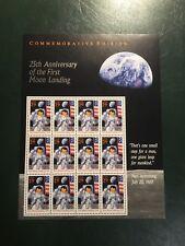 Francobollo USA Moon Landing Spazio Space Stamp Amstrong