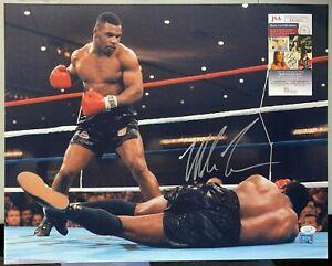 Mike Tyson Signed 16x20 Photo Autographed AUTO JSA COA