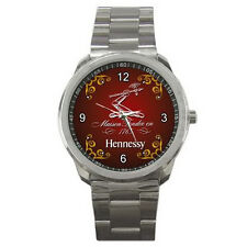 New Sport Metal Wrist Watch Stainless hennessy vsop GIFT