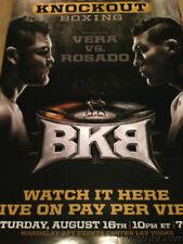 BKB Big Knockout Boxing Vera vs Rosado poster print Mandalay Bay