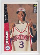 1996-97 Collector's Choice #301 Allen Iverson RC Rookie