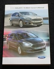 FORD Galaxy S-MAX Manuale Proprietari Manuale Wallet AUDIO Navi Sync 2015-2017 LIBRO