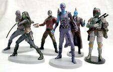 Disney Authentic Boba Fett, Yondu, Star Lord, Nebula, Drax, Gamora -Cake Toppers