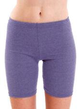 Womens Summer Shorts Dance Cycling Cotton Leggings UK 6-26