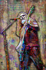 TOM ARAYA Of SLAYER 16x20in Poster Slayer Tribute Metal Music Art Free Shipping