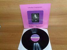 LEBENDIGE VERGANGENHEIT : RICHARD SCHUBERT I : Vinyl Album : LV 168 : MONO
