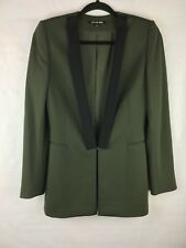 New With Tags Gianni Bini Women's Size 2 Skirt Blazer Set Green Black WorkCareer