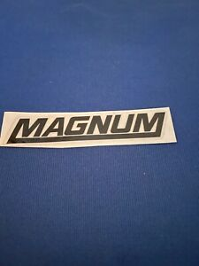 NEW OEM STIHL Magnum decal not counterfeit like some others on eBay ChainsawCC