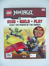 LEGO Ninjago Read Build Play, Fight the Power of the Snakes Set - New Sealed