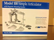 whip mix articulator model 100 with magnetic mounting system idea No. 51000