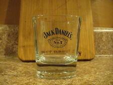 Jack Daniel's Old No 7 Low Ball Whisky Rocks Embossed Bottom Glass