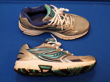 8.5 Saucony Cohesion 9 15262-1 Womens Tennis Shoes Blue gray Running Grid Trail
