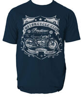 Indian Motorycle Club t shirt motorcycle bike biker S-3XL