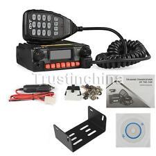 QYT KT8900R Tri band car mobile radio 136-174 240-260 400-480 Mhz w/hand mic