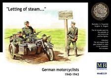 Master Box 1/35 alemán motociclistas 1940-43 # 3539 @