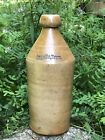 RARE Antique INGALLS BROS Salt Glazed Stoneware Beer Bottle Portland Maine