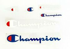 Champion Iron On Patches DIY T-shirt Clothes Stickers Fabric Applique