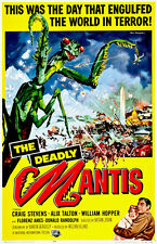 The Deadly Mantis - 1957 - Movie Poster