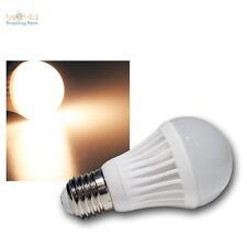5 X LAMPADINA LED E27 5W bianco caldo 360LM, 27 230v