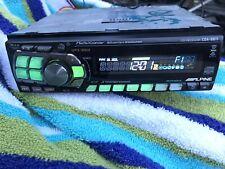 Alpine Cda-9811 Cd Player Am/Fm Car Stereo Receiver Sq Audiophile Old School