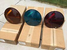 "Vintage Kopp No.  TL-1205 12"" Wide Angle Traffic Light Arrow Lens Complete Set"