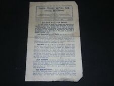 1945-46 LEAGUE LEEDS UNITED v NEWCASTLE UNITED (BOLTON DISASTER FUND )