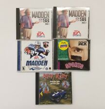 Madden NFL 98, Madden 2001, ATV Rally and You Don't Know Jack Sports for the PC