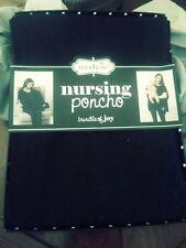 New listing Mud Pie Nursing Poncho Easy Care Washable Black Nursing Poncho Nwt In Box Look