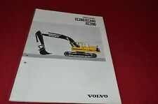 Volvo EC280 EC340 EC390 Excavator Dealer Brochure YABE13