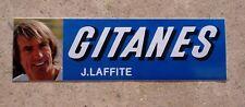 Autocollant Sticker GITANES Jacques LAFFITE  Vintage