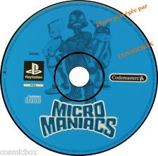 PlayStation 1 MICRO MANIACS jeu video pour console SONY psx ps1 ps2 pal testé