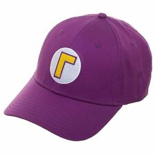 Super Mario Waluigi Flex Fit Cap Hat