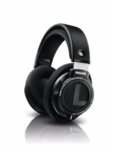 Philips SHP9500 HiFi Precision Stereo Over the Ear Headphones Black Open Back