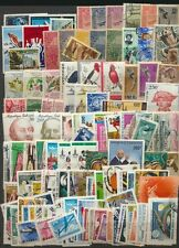Airmails World Stamp Collection 114 Different Pictorial Topical Issues High Vals