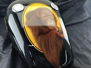 Harley Davidson Orangutan Clyde Clint Eastwood Painted Tank 5130Dis