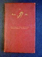 VANDEN PLAS 3 LITRE PRINCESS - OPERATION HANDBOOK - NOVEMBER 1960  #AKD 1410 A