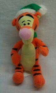 "Walt Disney Winnie the Pooh WINTER TIGGER W/ HAT & SCARF 6"" Plush STUFFED ANIMAL"