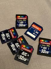 4 Mb, 16 Mb And 32 Mb SD Card Bundle
