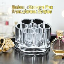 Transparent Acrylic Cosmetic Organizer Makeup Brushs Container Storage Box Case