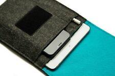 iPad Mini 5 Case, Apple Pencil Holder Pocket, Keyboard Compatible, Felt Sleeve
