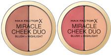Max Factor X  Miracle Cheek Duo Compact  Blush & Highlight -Select Shade
