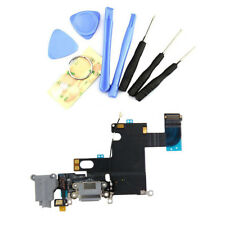 """Brand New Charging Port Headphone Jack Audio Flex Cable For iPhone 6 4.7"""" Gray"""