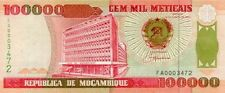 [CF3185] Mozambique 1993, 100.000 Metical (UNC)